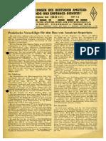 CQ DASD 1940 Heft 001 Und Heft 002