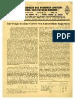 CQ DASD 1940 Heft 005 Und Heft 006