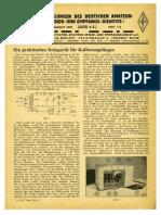 CQ DASD 1940 Heft 007 Und Heft 008