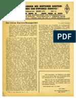 CQ DASD 1941 Heft 001 Und Heft 002