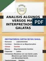Analisis Algunos Versos Galatas Finalizada