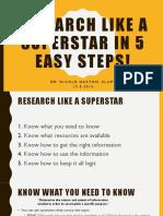 cyff-research like a superstar