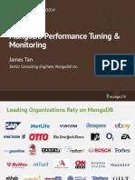 MongoDB Performance Tuning Monitoring