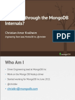Storage Talk Mongodb