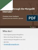 Storage Talk Mongodb