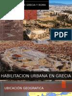 Urbanizacion de Grecia y Roma