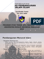 Teoligi Pembangunan Dalam Islam