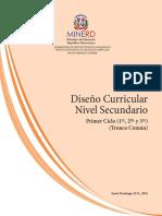 Nivel Secundario 1er. Ciclo