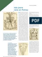 Les grands jours de Rabelais en Poitou