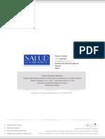Modelo Epidemiológico Social de La Salud, Para La Planeación de La Política Sanitaria