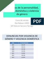 Trast y Violencia Doméstica
