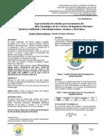 Formato para la presentación de artículos para la memoria del  Décimo Congreso Científico Tecnológico de las Carreras de Ingeniería Mecánica Eléctrica, Industrial y Telecomunicaciones, sistemas y electrónica.