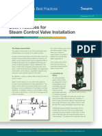 Best Practices for Steam Control Valve Installation