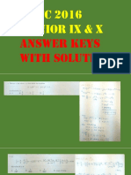 Nmtc 2016 Junior 9 10 Solution Answer Keys