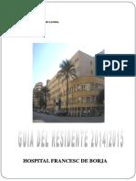 Guía Informativa Para Residentes 2014-2015