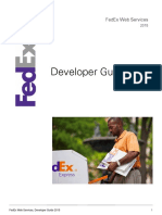 FedEx WebServices DevelopersGuide