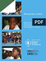 Manual Para La Formación de Facilitadoras y Facilitadores Comunitarios en Violencia Sexual Basada en Género