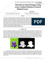Salient Region Detection in Natural Images Using EM-Based Structure-Guided Statistical Textural Distinctiveness