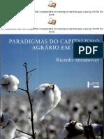 Paradigmas Do Capitalismo Agrário Em Questão