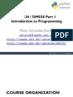 Introduktion Til Programmering - 1. Lektion