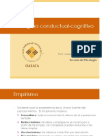 Paradigma conductual-cognitivo