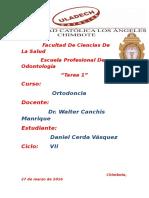 Historia Clinica Tarea 01 IU VII Ciclo