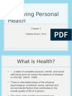 Chapter 1 -jk Achieving Personal Health