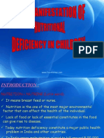 Oral Manifestations of Nutritional Deficiency in Children Pedo
