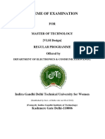 M.tech VLSI Design Syllabus