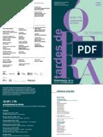 Programa de Sela | Tardes de Ópera | Setembro