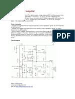2N3055 Power Amplifier