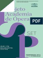 Programa de Sala | Concerto Orthesp | Setembro
