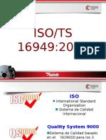 Introduccion ISO/TS 16949