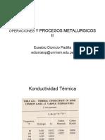 Operaciones y Procesos Metalurgicos II