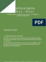1. La Antigua Grecia
