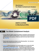 Ansys Ls-dyna Mapdl 14.5 Ws01 Fan Blade Containment