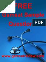 Free Gamsat Sample Questions.pdf