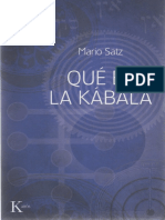 Satz Mario - Que Es La Cabala