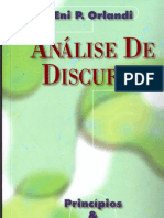 ORLANDI, Eni P. Análise do discurso - Princípios & procedimentos.pdf