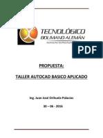 Taller Autocad - Jorihuela