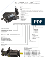 Rexroth a10vso Variable Axial Piston Pump