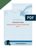 Scina Elementi Di Fisica Generale 1