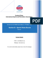 CPISRA Sports Manual 10th Edition Section B Sports Rules Boccia 2010-02 Release 006