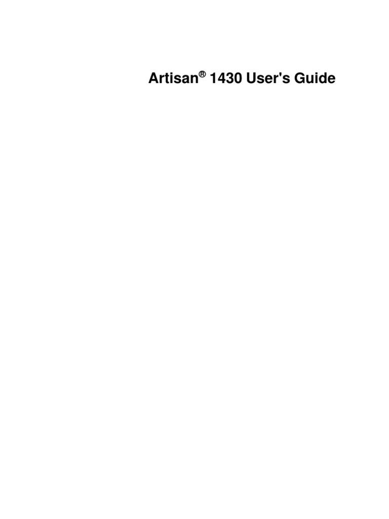 Epson Artisan 1430 User Guide | Printer (Computing) | Macintosh