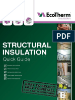 EcoTherm Structural Insulation Quick Guide Aug 2015