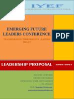 Mcf Iyef Leadership Proposal
