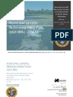 Municipal Landill Redevelopment Plan_Block 20_Lots 1.02-1.05 15 Aug 2016