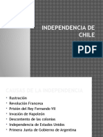 Independencia de Chile Resumen
