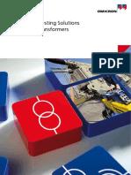 Bizu Teste Trafo Power Transformer Testing Brochure ENU