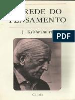 A Rede Do Pensamento - Jiddu Krishnamurti